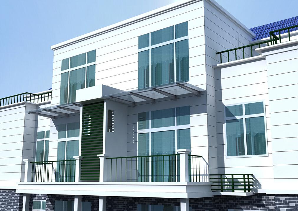 西安窗户雨棚;别墅雨棚